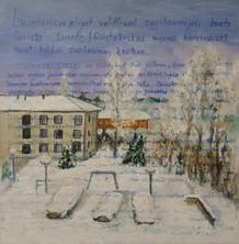 Heli Berg, Talvipäiväkirja