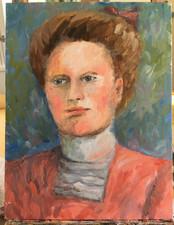 Anneli Rajala: Isoäiti, maalaus