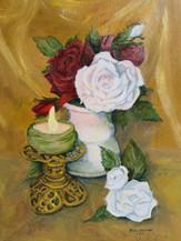 Pirjo Hassinen, Kynttilä ja kukat