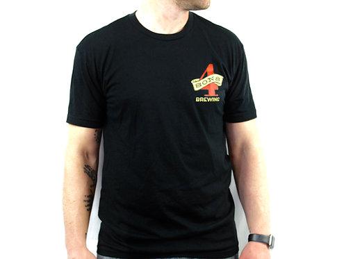 Men's Four Sons Brewing Logo T-Shirt