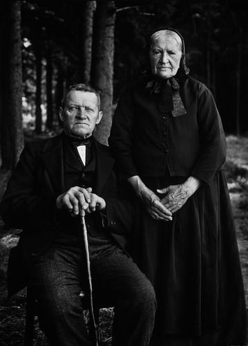 Bauernpaar – Zucht und Ordnung, 1912