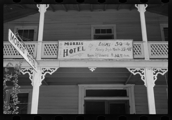 Walker Evans |  Boardinghouse, Alabama