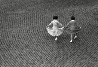 View from a Window: Dance of the Dresses , Rome - Trastevere, 1953