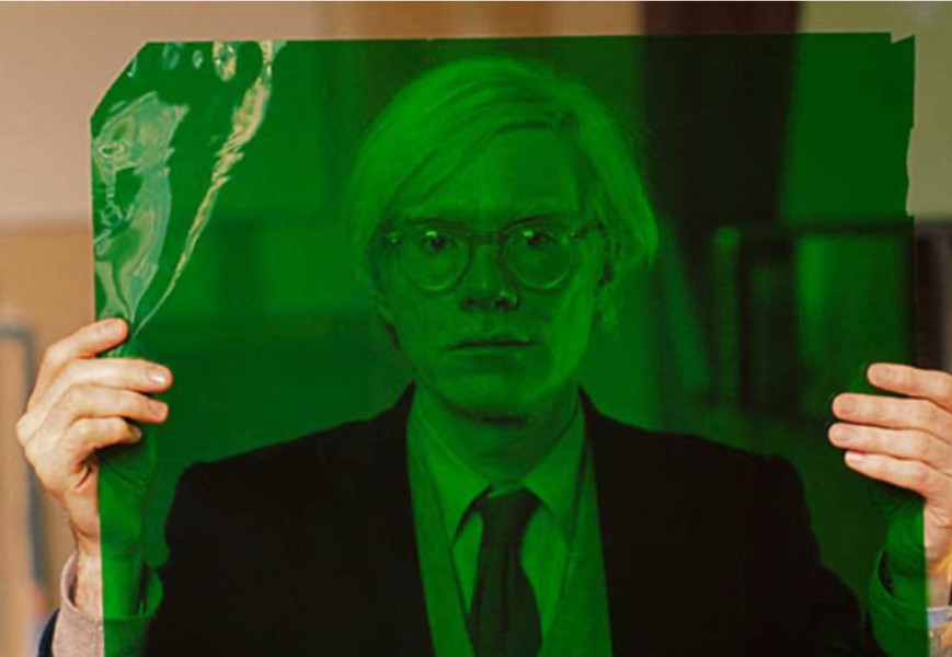 """Andy Warhol in his """"Factory"""", New York, 1981"""