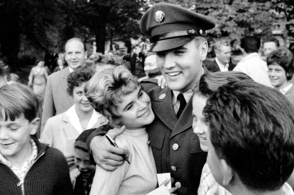 Elvis Presley, Hessen 1958