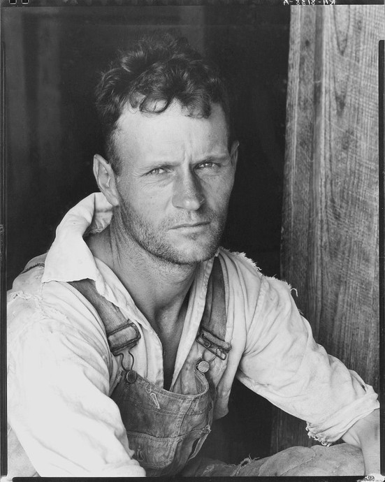 Walker Evans | Floyd Burroughs, cotton sharecropper. Hale County, Alabama