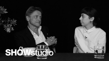 Interview for SHOWstudio