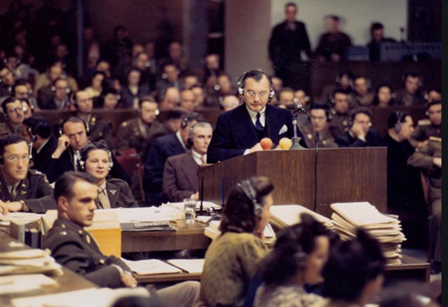 Robert Jackson, The Nuremberg Trial, 1945