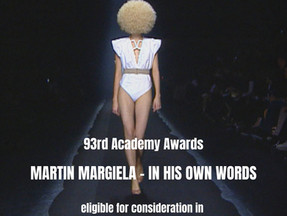93rd Academy Awards: Martin Margiela - IN HIS OWN WORDS eligible for consideration
