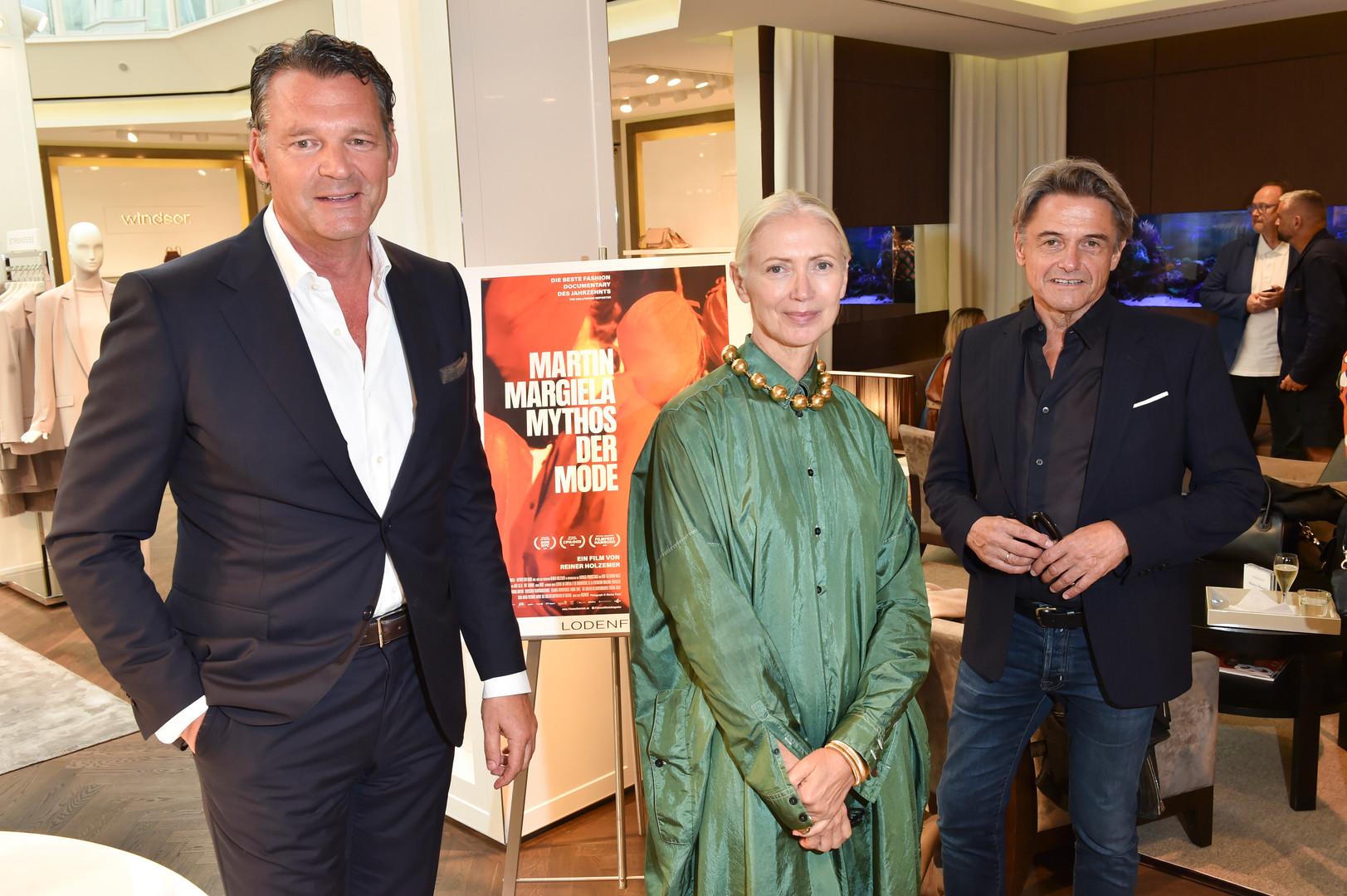 Markus Höhn, Christiane Arp, Reiner Holzemer ©BrauerPhotos/ G. Nitschke