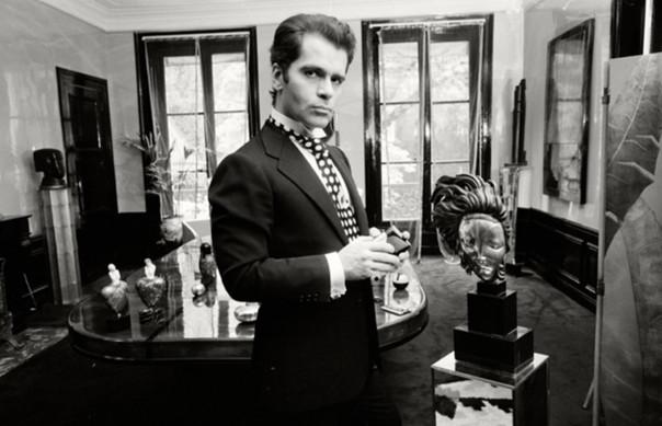 Karl Lagerfeld, Paris, 1972