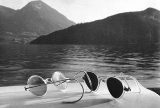 Sunglasses, Lake Lucerne,1936
