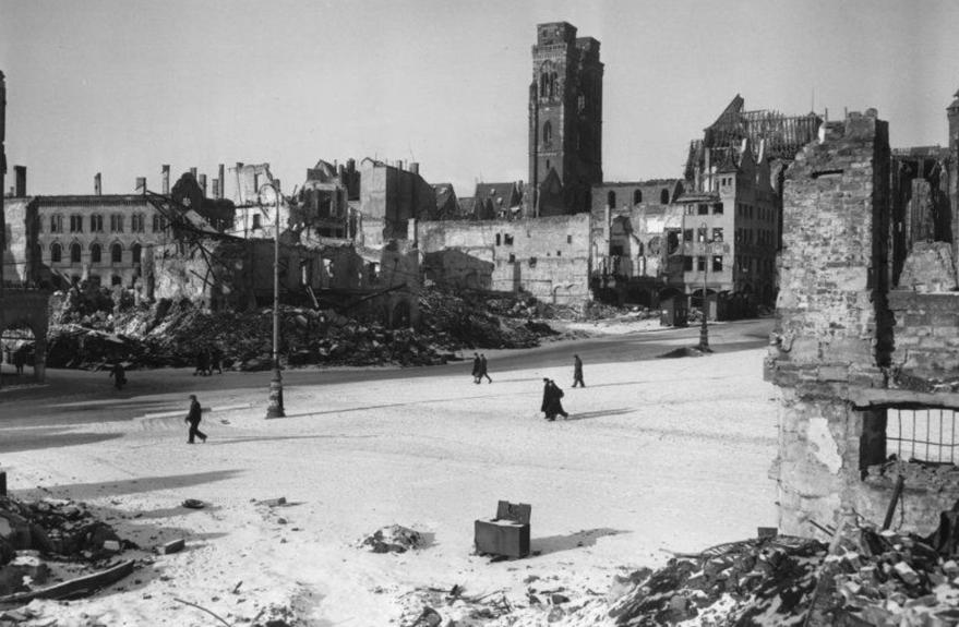 City of Nuremberg, 1945