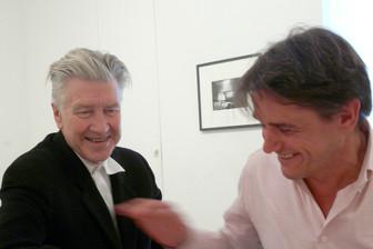 David Lynch and Reiner Holzemer