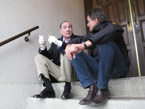 William Eggleston and Reiner Holzemer