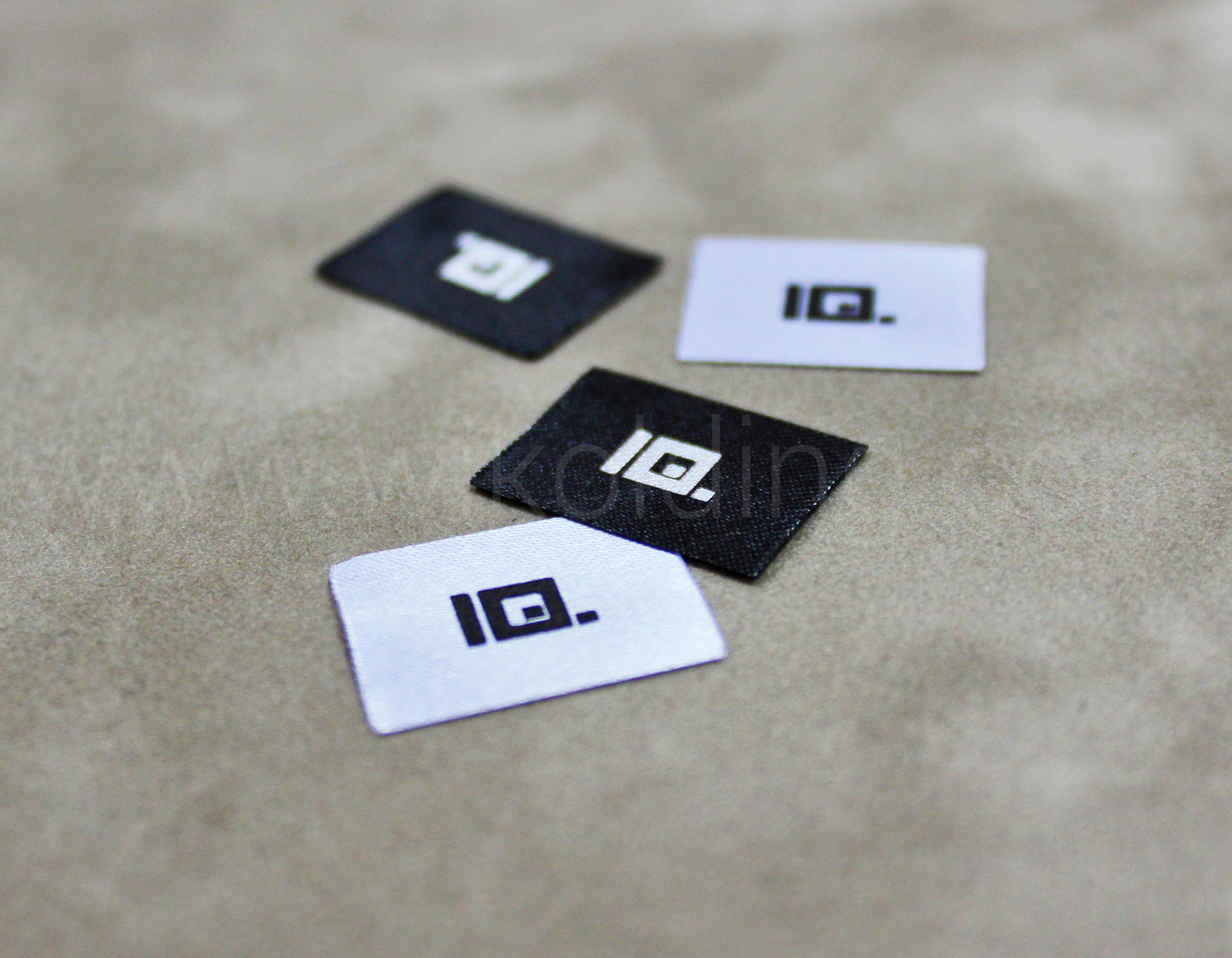 Бирки для одежды с логотипом