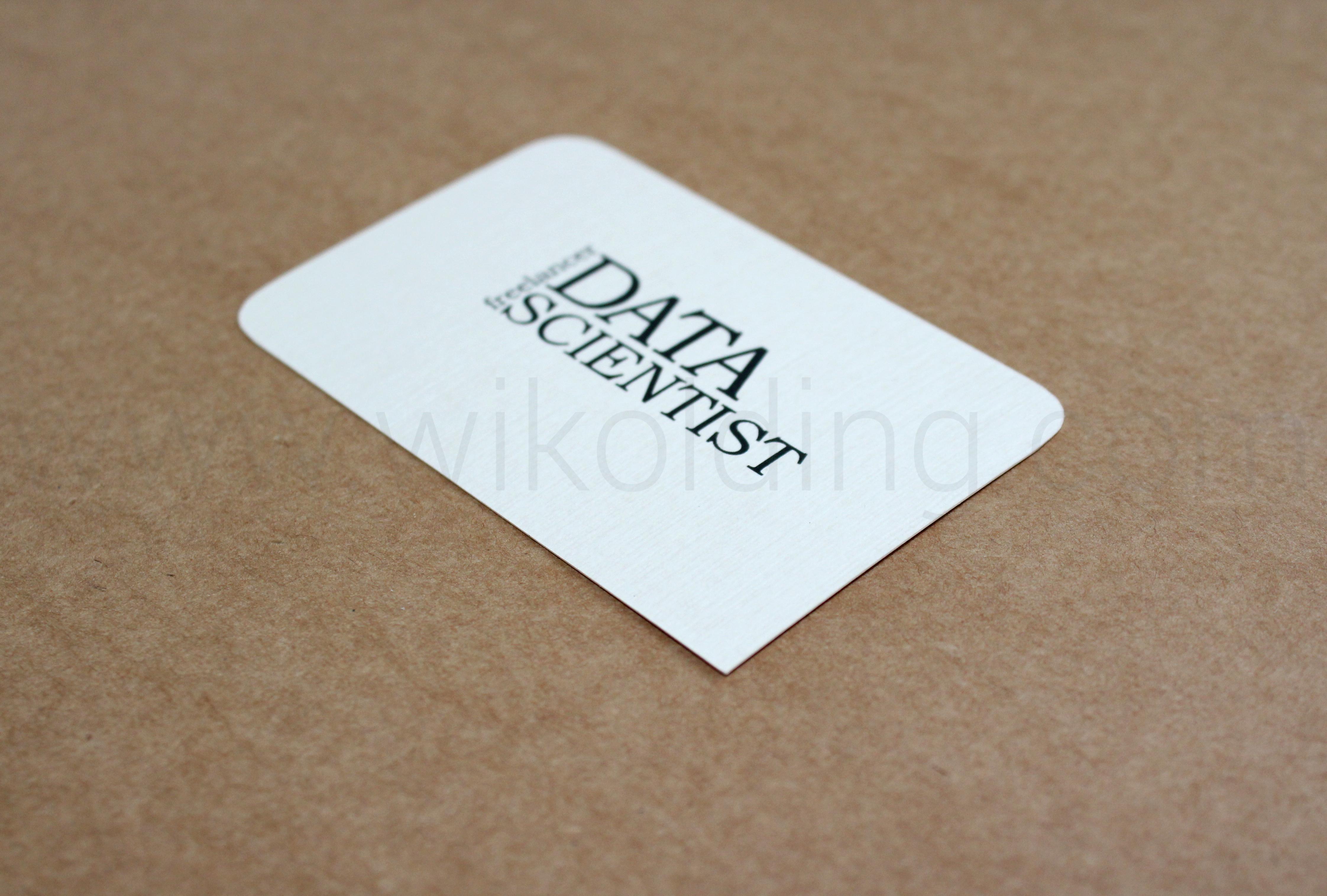 Дизайн и печать визитки
