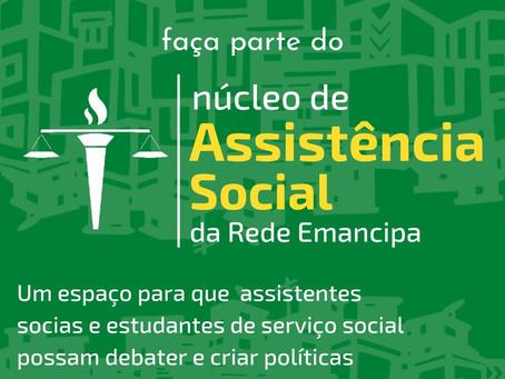 Faça parte do Núcleo de Assistência Social da Rede Emancipa