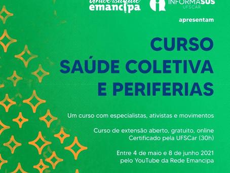 Saúde Coletiva e Periferias são tema de curso ofertado pela Universidade Emancipa e parceiros