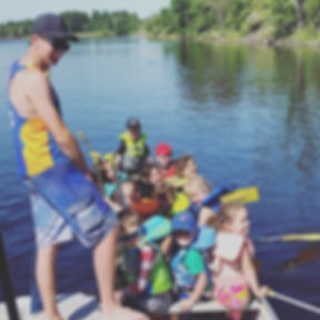 Day 7 - U8s pack the pleasure canoe! #we