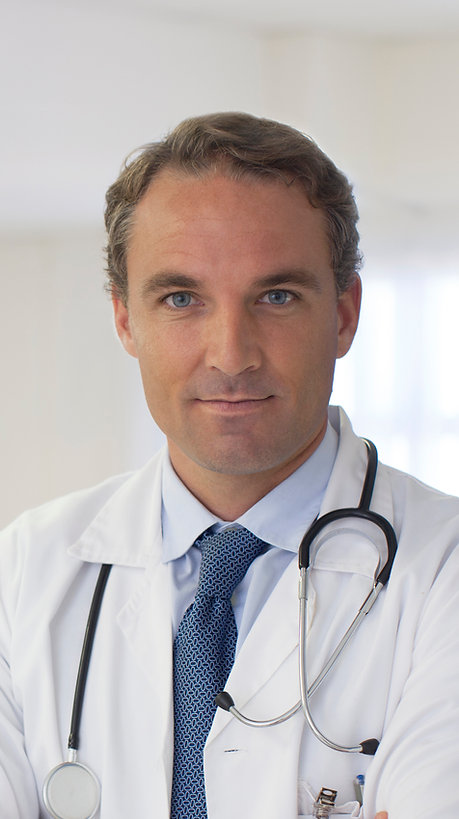 Doctor Wearing a Tie