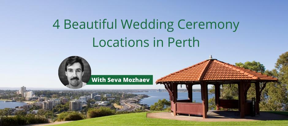 4 Beautiful Wedding Ceremony Locations in Perth, Western Australia