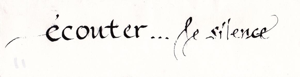 calligraphie Caroline Morel