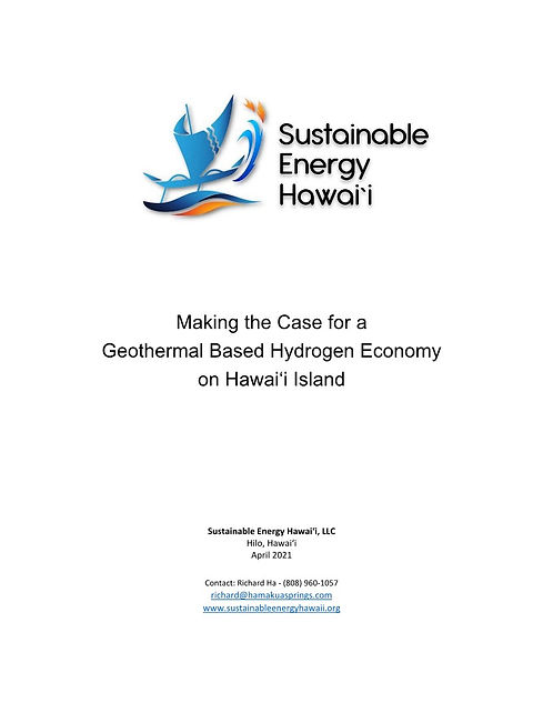 SEH Geothermal-Hydrogen Economy White Pa