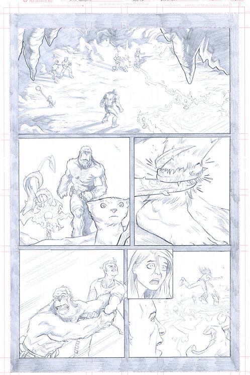 Original Pencils- Perhapanauts DDU #5, pg 7