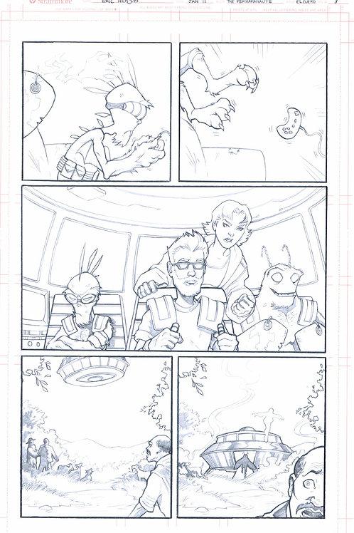Original Pencils- Perhapanauts DDU #2, pg 21