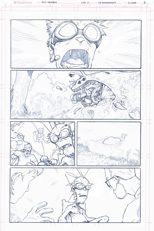 Original Pencils- Perhapanauts DDU #2, pg 26