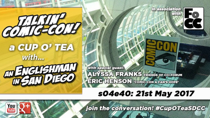 Talkin' San Diego Comic Con