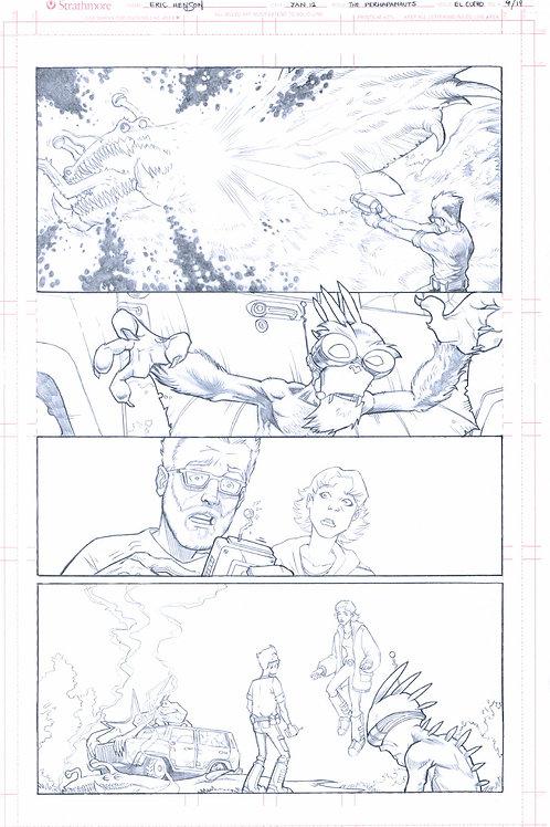 Original Pencils- Perhapanauts DDU #4, pg 14