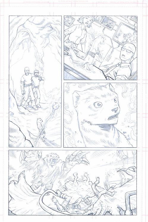 Original Pencils- Perhapanauts DDU #5, pg 11