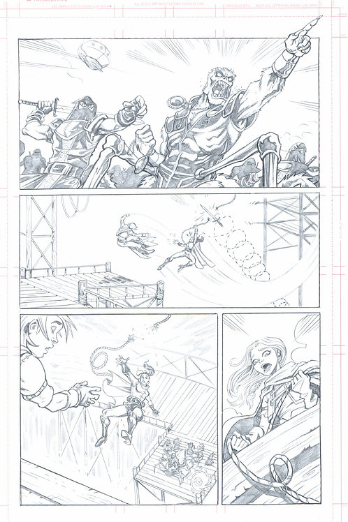 Original Pencils- The Mike Wieringo TELLOS Tribute: Vol 2, pg 75