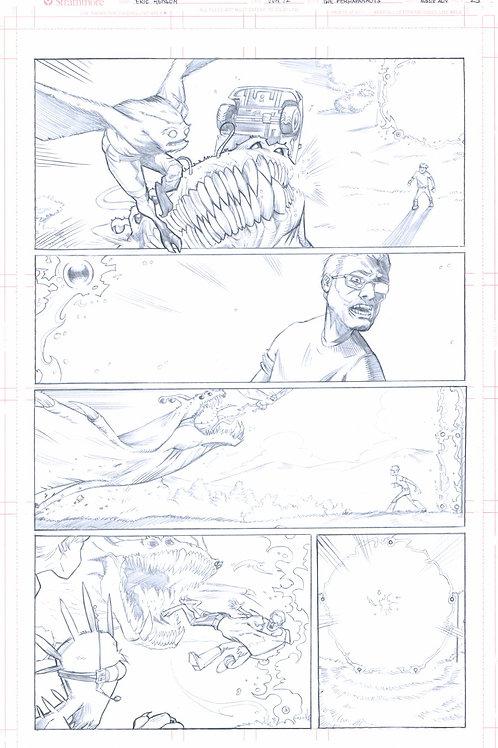 Original Pencils- Perhapanauts DDU #4, pg 25