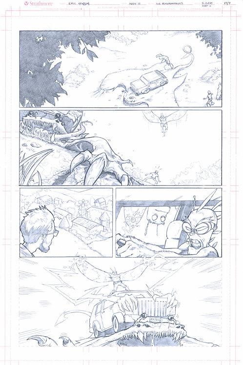 Original Pencils- Perhapanauts DDU #4, pg 12