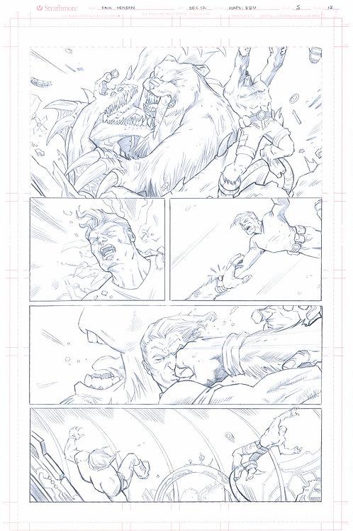 Original Pencils- Perhapanauts DDU #5, pg 12