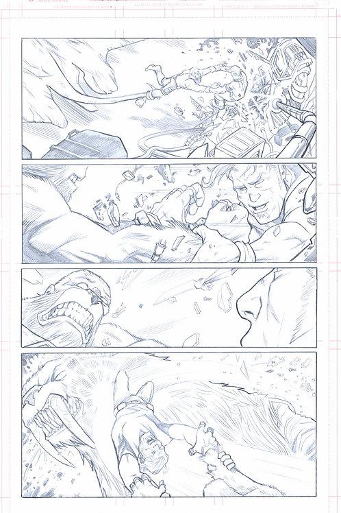 Original Pencils- Perhapanauts DDU #5, pg 9