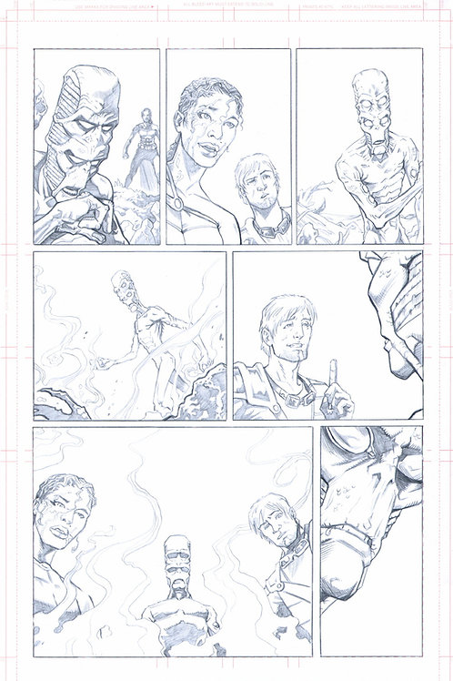 EDEN #1, pg 24 (Original Pencils)