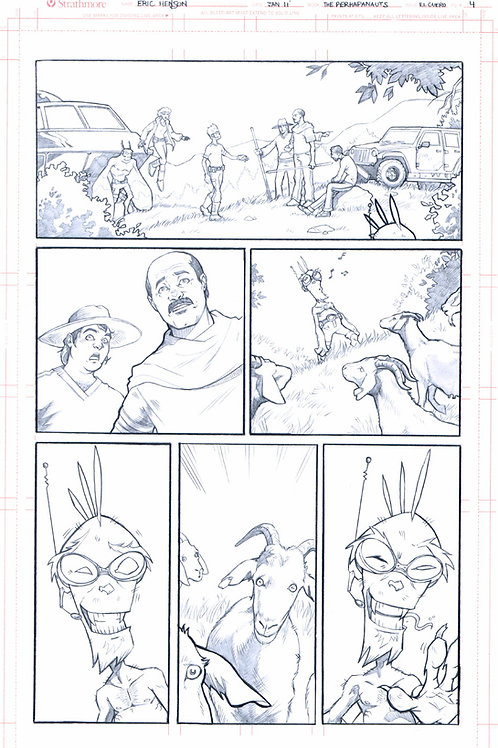 Original Pencils- Perhapanauts DDU #2, pg 22
