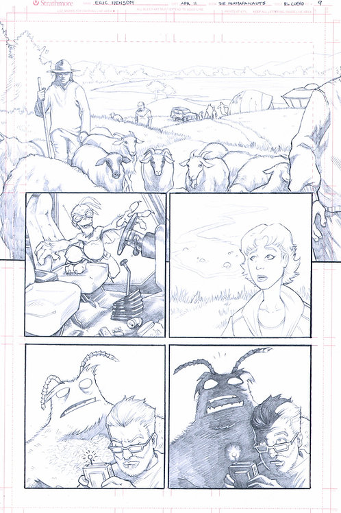 Original Pencils- Perhapanauts DDU #2, pg 27