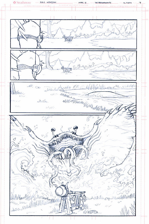 Original Pencils- Perhapanauts DDU #2, pg 25