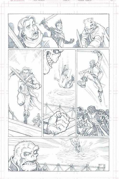 Original Pencils- The Mike Wieringo TELLOS Tribute: Vol 2, pg 76