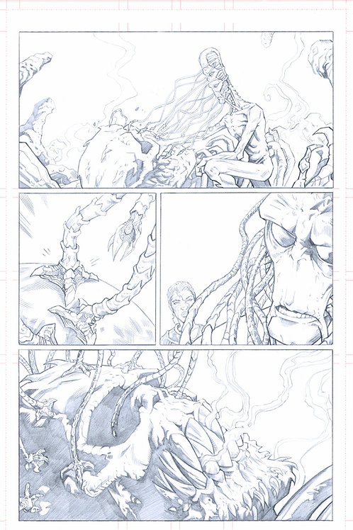 EDEN #1, pg 26 (Original Pencils)