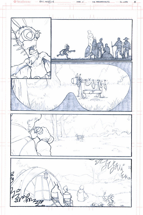 Original Pencils- Perhapanauts DDU #2, pg 23