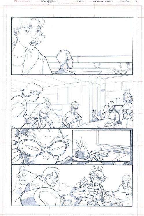 Original Pencils- Perhapanauts DDU #2, pg 20