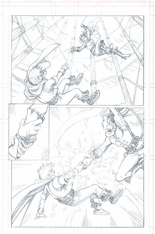Original Pencils- The Mike Wieringo TELLOS Tribute: Vol 2, pg 73