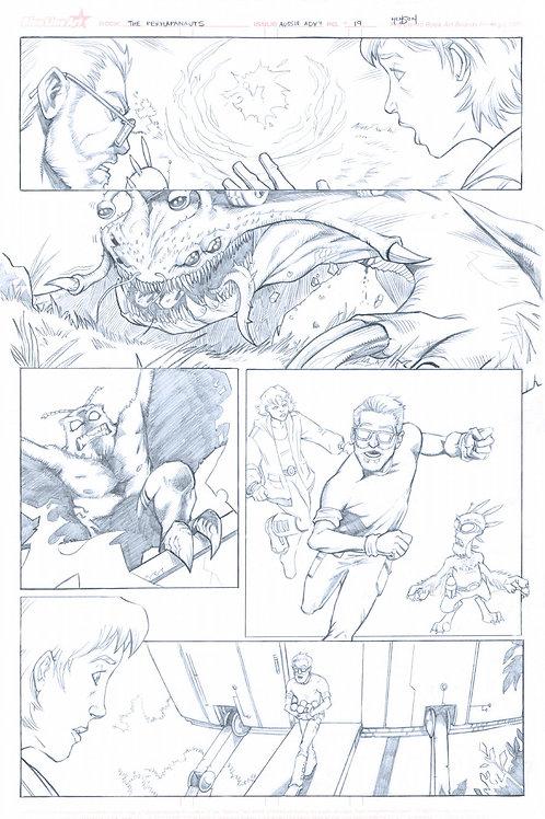 Original Pencils- Perhapanauts DDU #4, pg 19