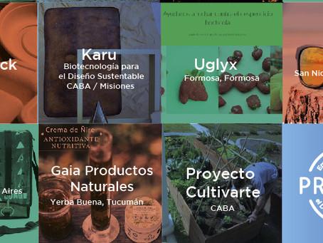 Quince nuevos ganadores del Concurso Nacional PROESUS para emprendimientos sustentables